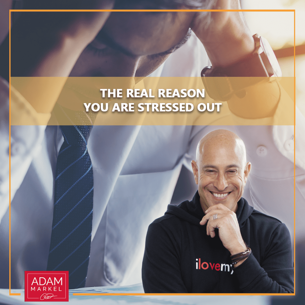 The Real Reason You Are Stressed Out