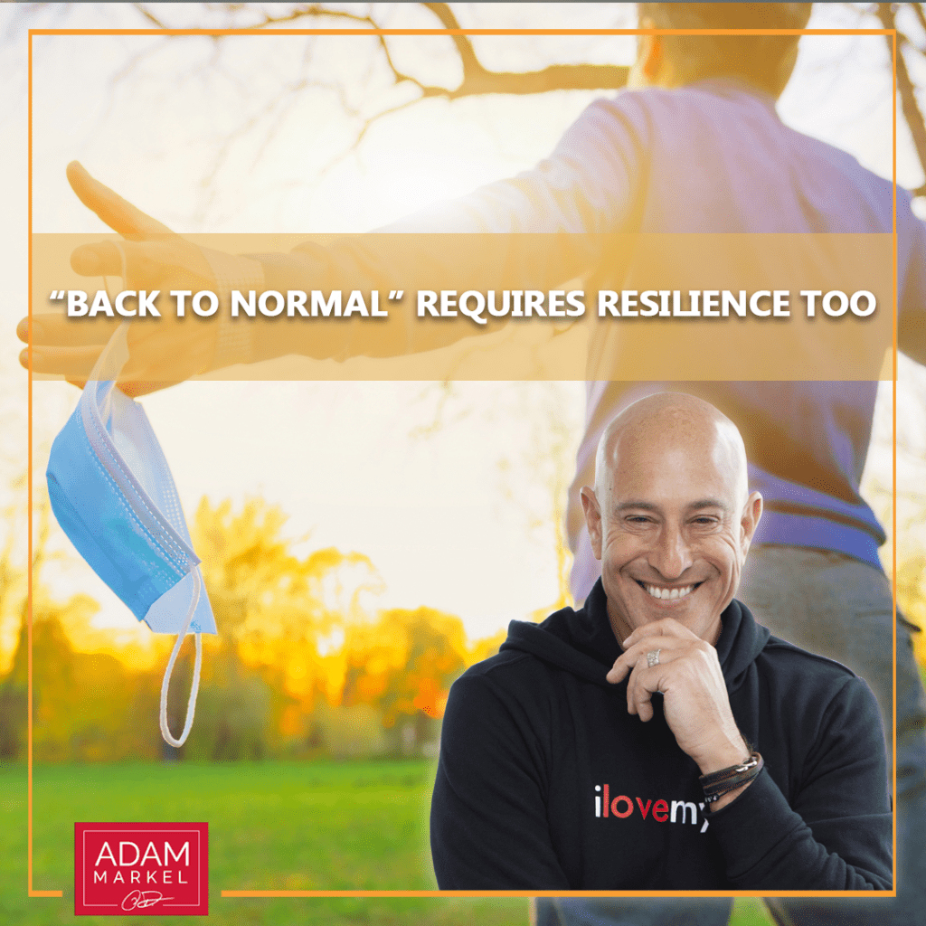 """""""Back to Normal"""" Requires Resilience Too"""